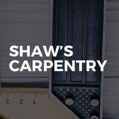 Shaw's Carpentry