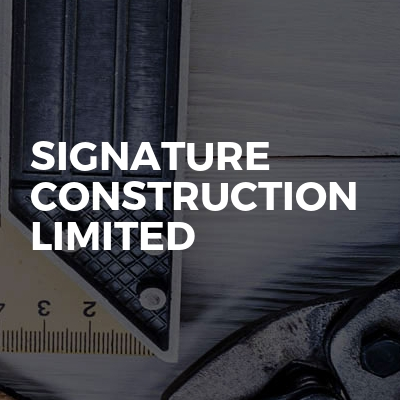 Signature Construction Limited