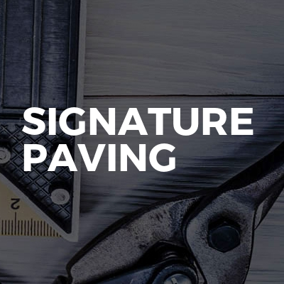 Signature paving