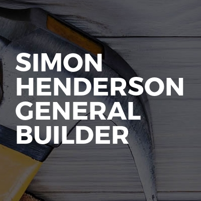 Simon Henderson General Builder