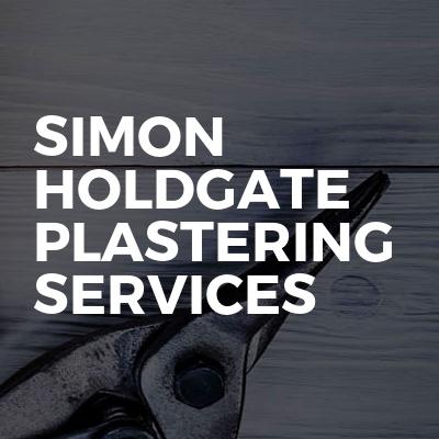 Simon Holdgate plastering services