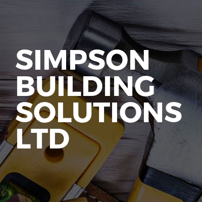 Simpsons Building Solutions Limited