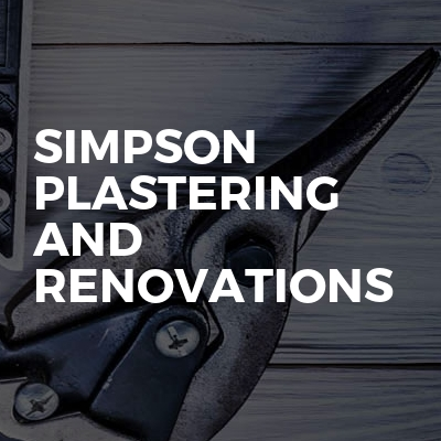 Simpson Plastering And Renovations