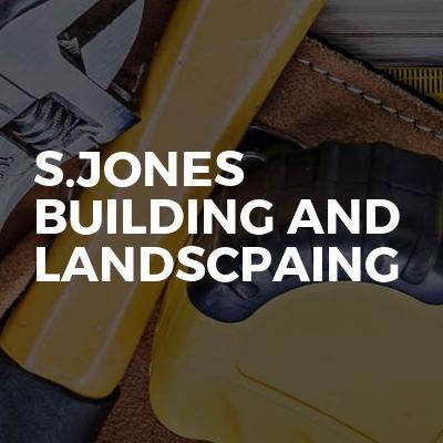 S.jones building and landscpaing