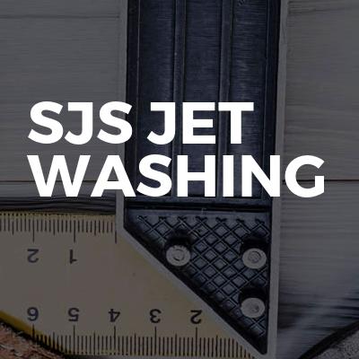 Sjs jet washing