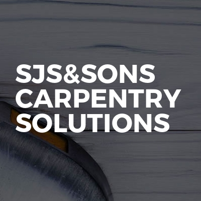 sjs&sons carpentry solutions