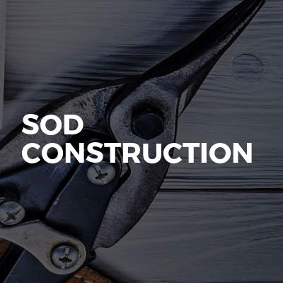 Sod Construction