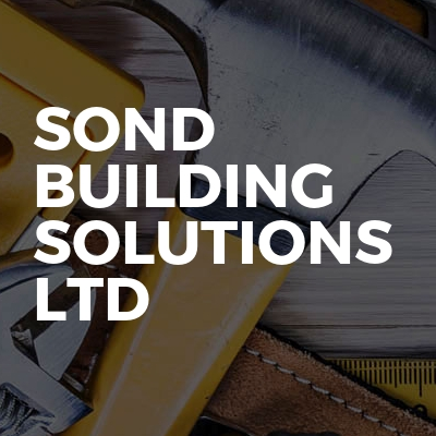 Sond Building Solutions Ltd