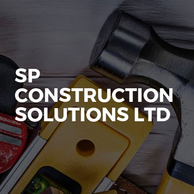 SP Construction Solutions Ltd