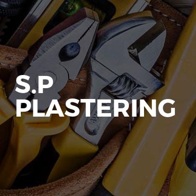 S.p plastering