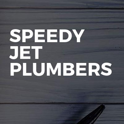 Speedy jet plumbers