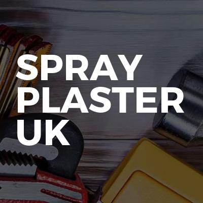 SPRAY PLASTER UK