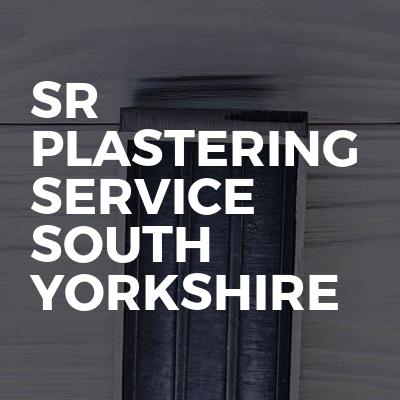 Sr plastering service south Yorkshire