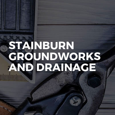 Stainburn groundworks and drainage