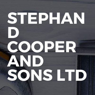 Stephan D Cooper And Sons Ltd