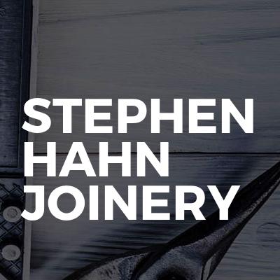 Stephen hahn joinery