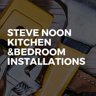 Steve noon kitchen &bedroom installations