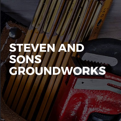 Steven And Sons Groundworks