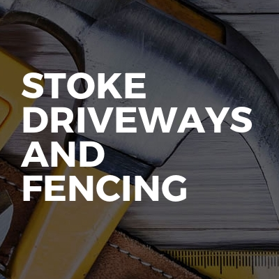 Stoke driveways and fencing