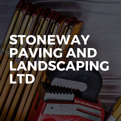 Stoneway paving and landscaping ltd