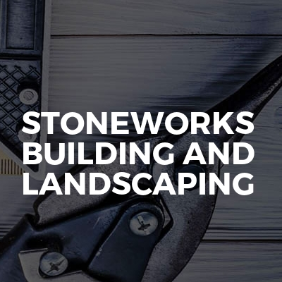 Stoneworks building and landscaping