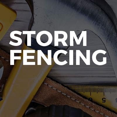 Storm Fencing