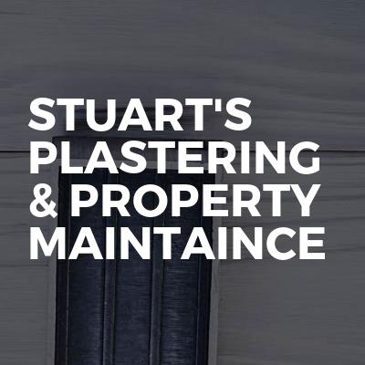 Stuart's Plastering & Property Maintaince