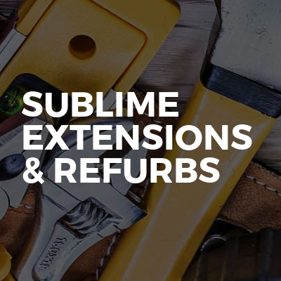 Sublime Extensions & Refurbs
