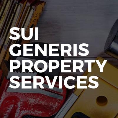 Sui Generis Property Services