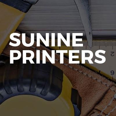 Sunine printers