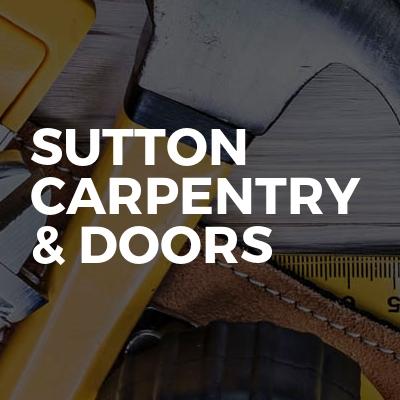Sutton carpentry & doors