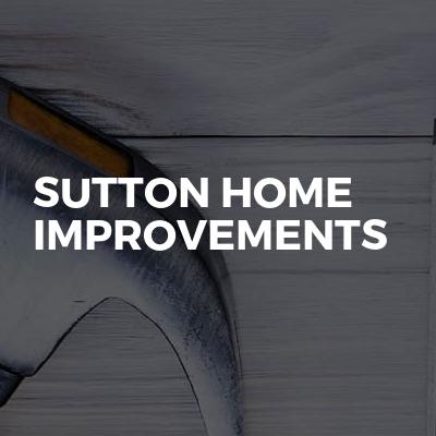 Sutton home improvements