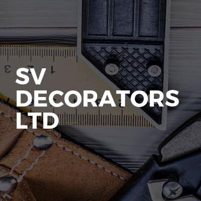 SV DECORATORS LTD