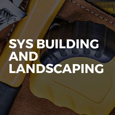 Sys Building And Landscaping
