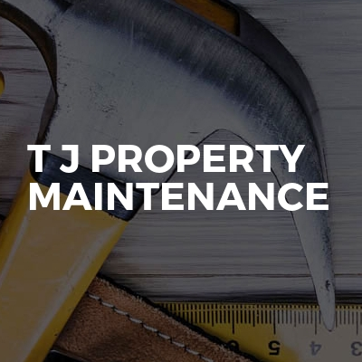 T J Property Maintenance