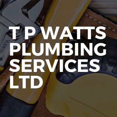 T p watts plumbing services ltd