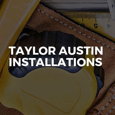 Taylor Austin Installations