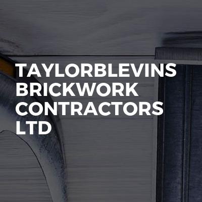 TaylorBlevins brickwork contractors LTD