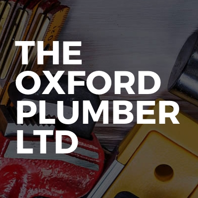 The Oxford Plumber Ltd