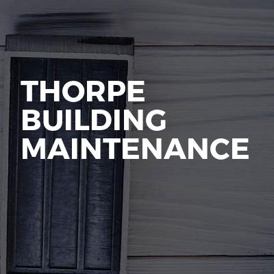 Thorpe Building Maintenance