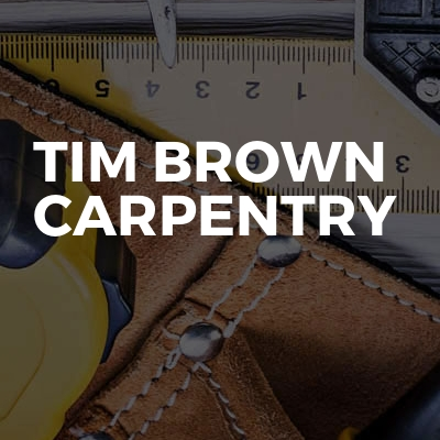 Tim Brown Carpentry
