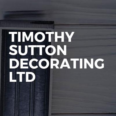Timothy Sutton Decorating ltd
