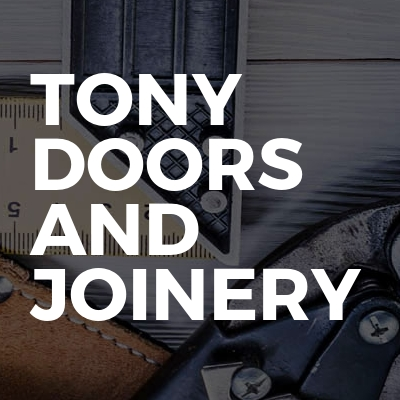 Tony doors and joinery