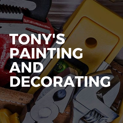 Tony's Painting And Decorating