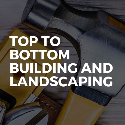 Top to bottom Building and Landscaping