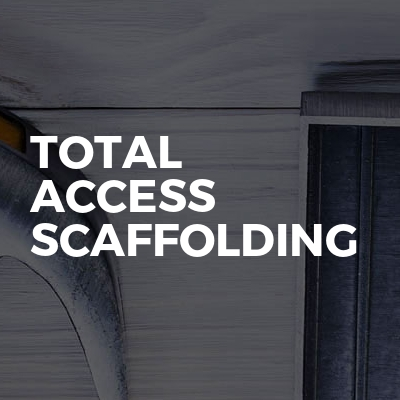 Total access scaffolding