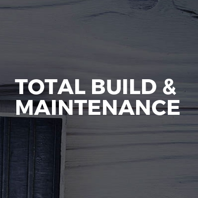 Total build & maintenance