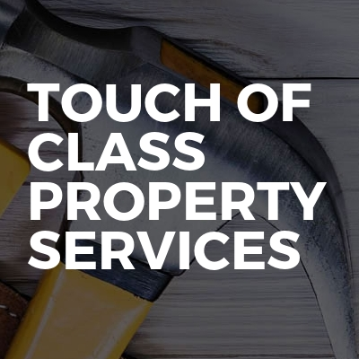 Touch of class property services