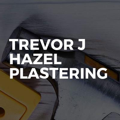 Trevor J Hazel Plastering