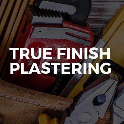 True finish plastering